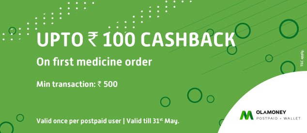 Pharmeasy Offers - Get cashback upto Rs.100 on your First Medicine Order