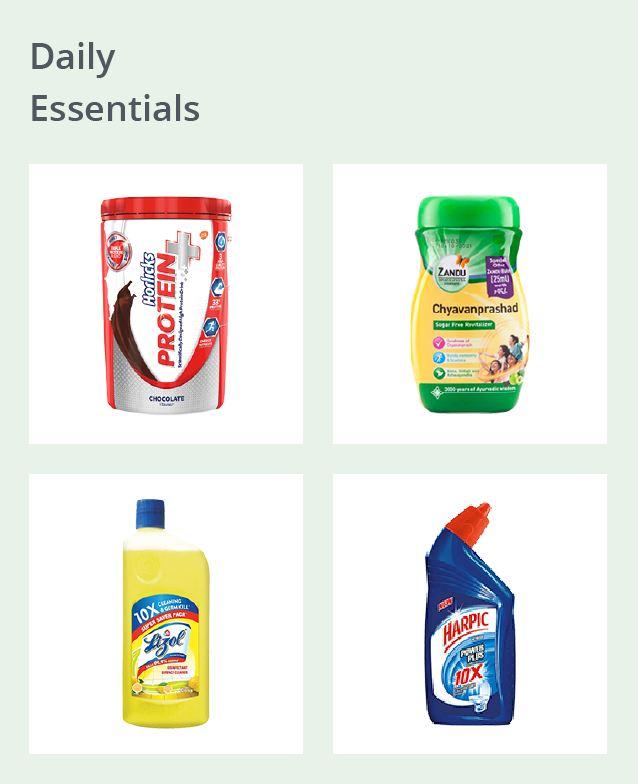 Daily Essentials Dweb