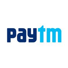 Upto Rs.500  Paytm Cashback