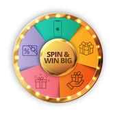 Spin the wheel and win assured rewards